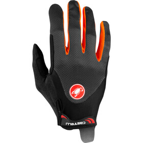Castelli Arenberg Gel Long-Finger Gloves dark gray/orange